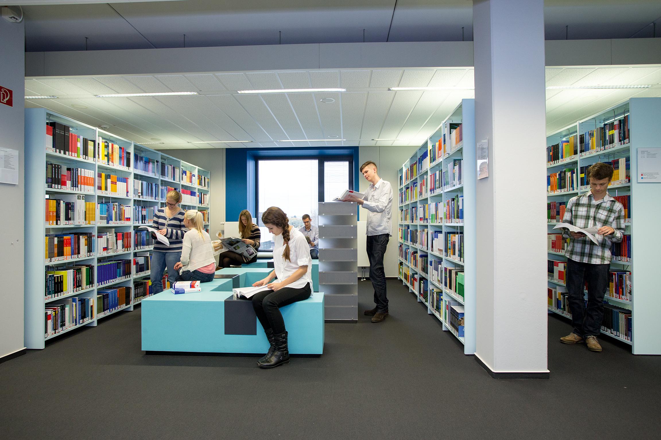 bibliothek hochschule rhein waal. Black Bedroom Furniture Sets. Home Design Ideas