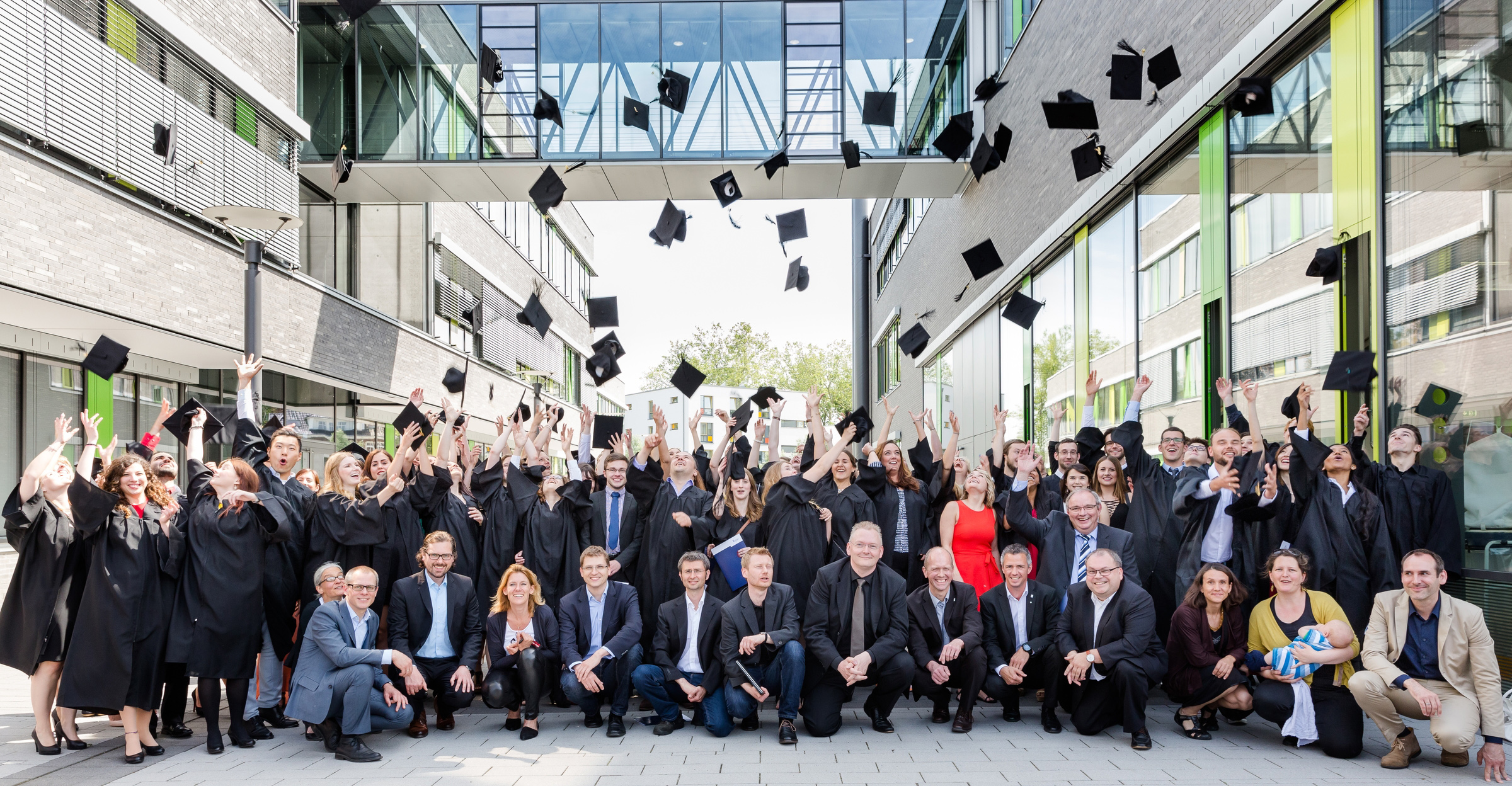 Graduation Ceremony Reception: Graduation Ceremony 2016 At Rhine-Waal University Of