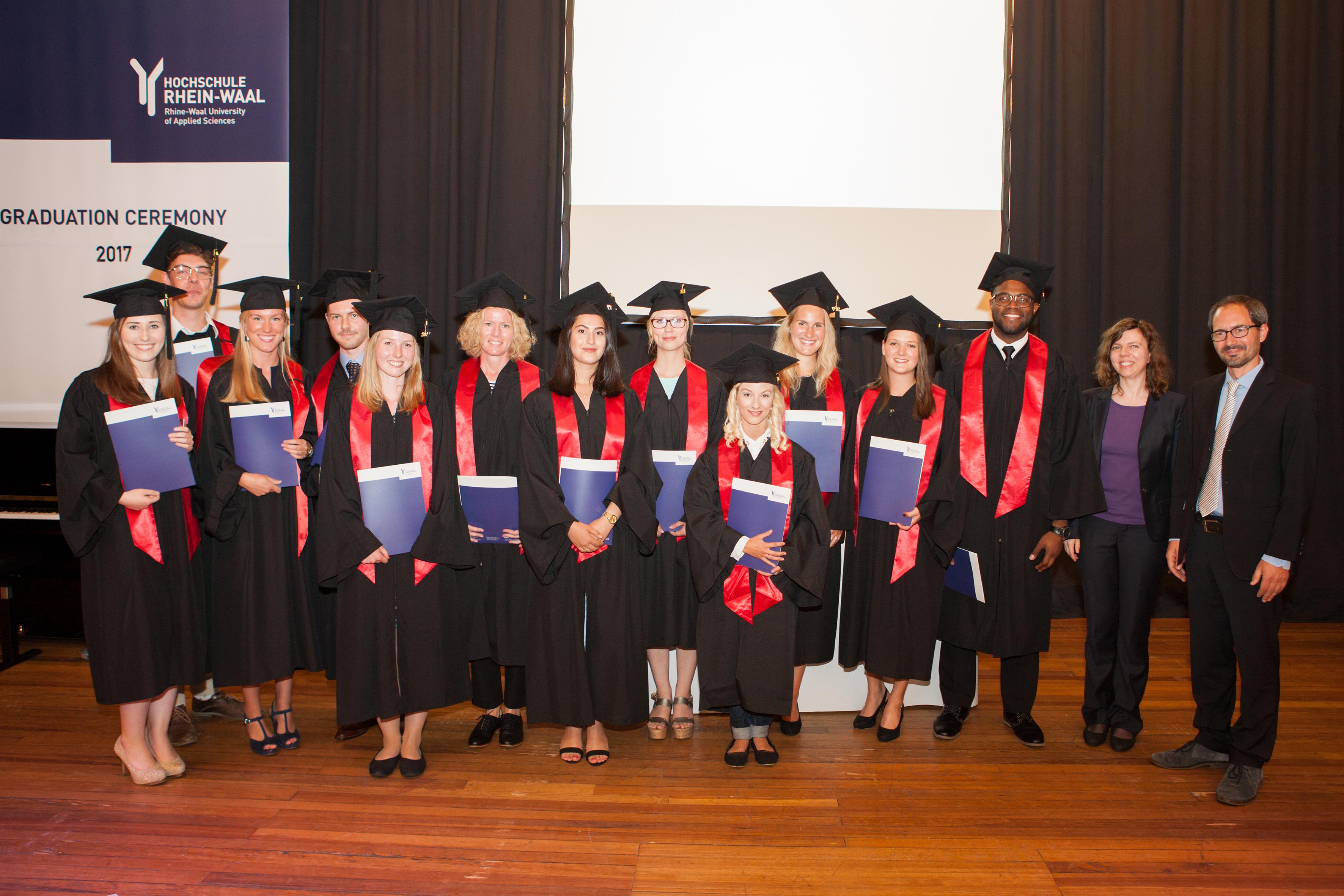 Graduation Ceremony 2017 At Rhine-Waal University Of