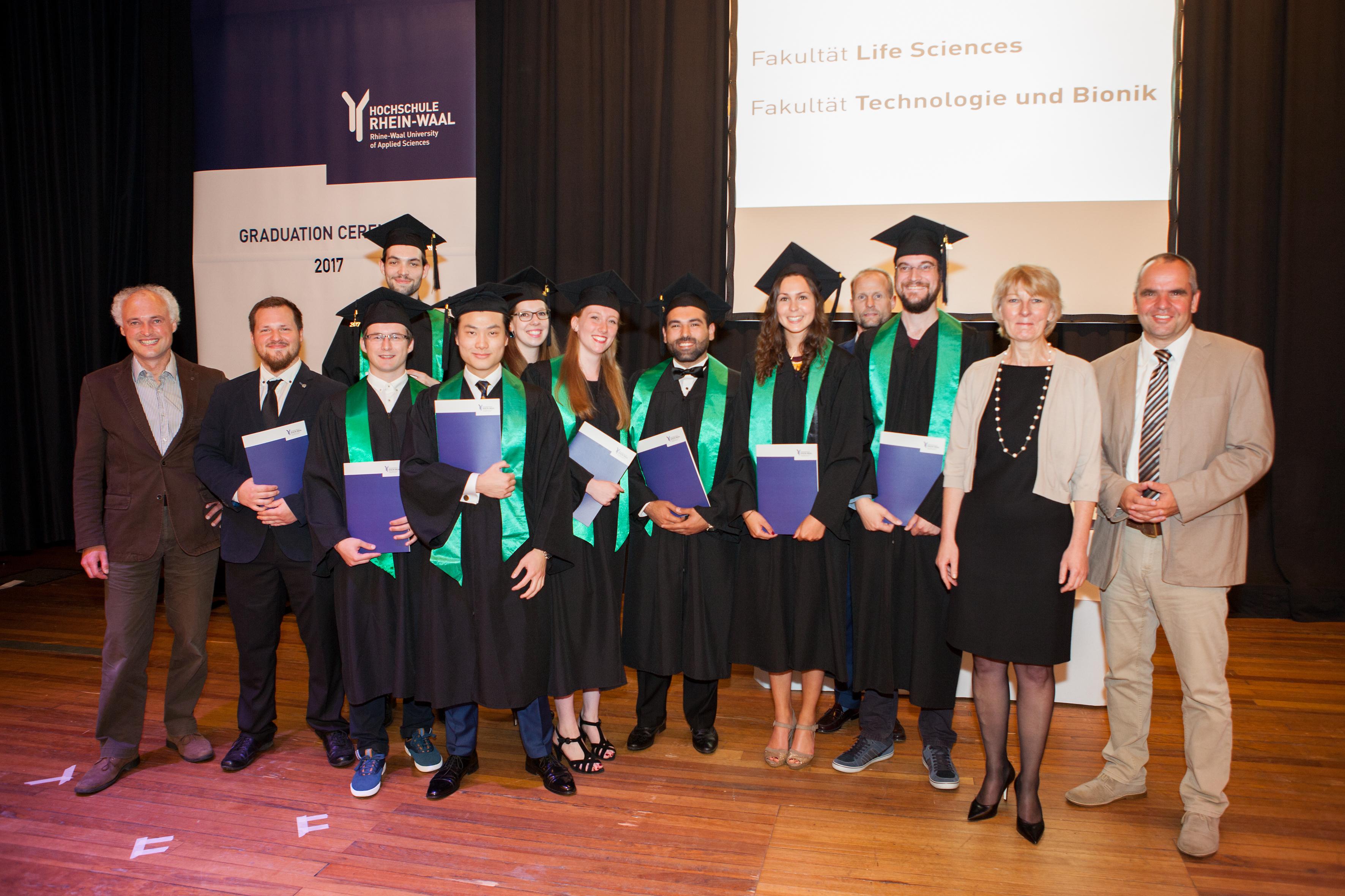 Graduation Ceremony Reception: Graduation Ceremony 2017 At Rhine-Waal University Of