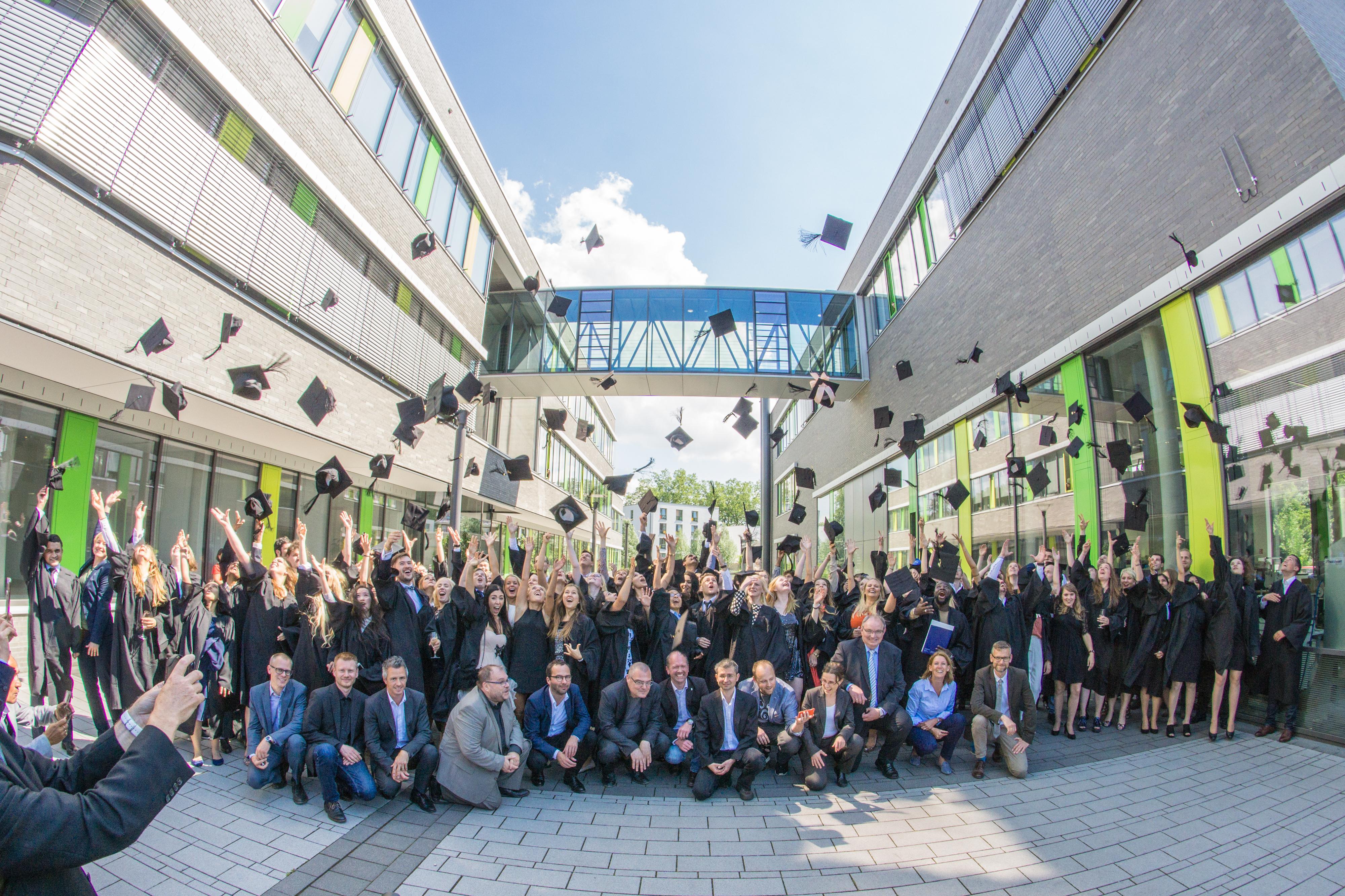 Abschlussfeier 2017 an der Hochschule Rhein-Waal | Hochschule Rhein-Waal