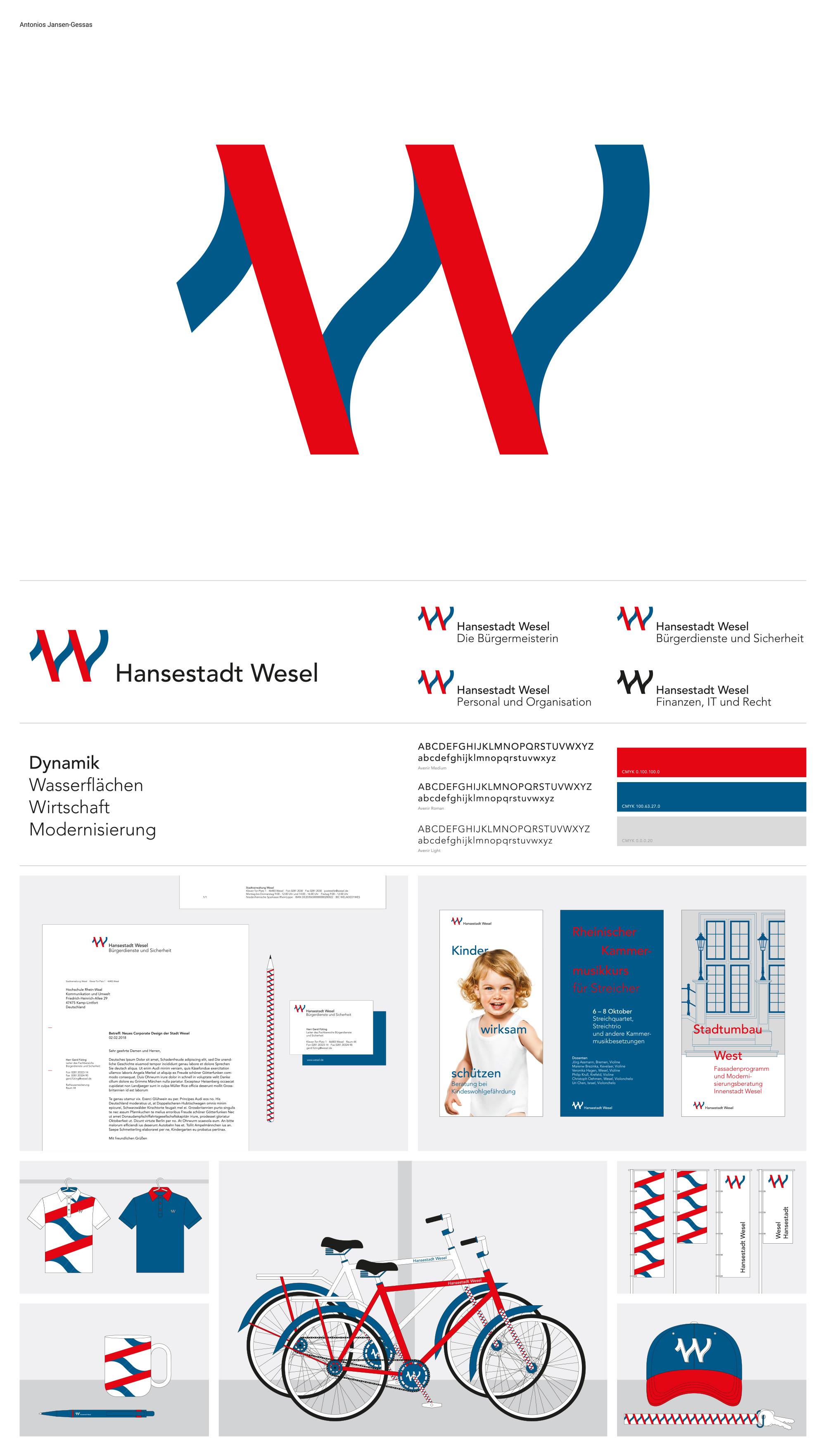 Studentischer Wettbewerb für neues Corporate Design der Stadt Wesel ...