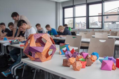Boys Day an der Hochschule Rhein-Waal.