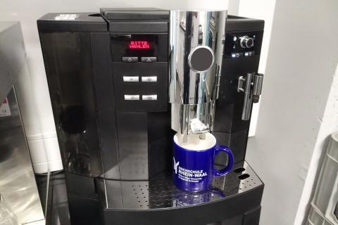 In Büro-Kaffeemaschinen stecken so viele Keime wie im Abflussrohr