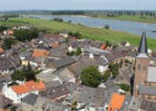 Smart Villages, Luftaufnahme von Grieth